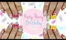 KKN recreates No.5| Katy Perry Birthday Nails