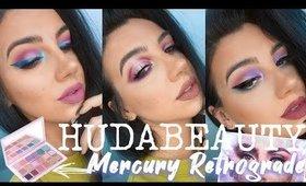 HUDABEAUTY MERCURY RETROGRADE PALETTE! | Three Looks + Review