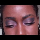 Brown and Grey Pretty Smokey Eyes