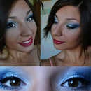 Blue sea makeup