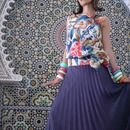 shooting in Morocco haute couture