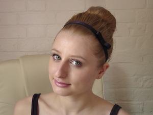 Hair tutorial: Coleen Rooney inspired volumized updo
