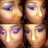 love purples and pinks