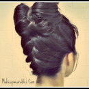 Hair bows! Upside Down FRENCH Braided, Double Hair Bow Bun Tutorial! :)