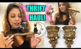 🎇 A VERY MAGICAL THRIFT STORE HAUL 🔮 I FOUND BEAUTIFUL ITEMS FOR UNDER $5! 🎇