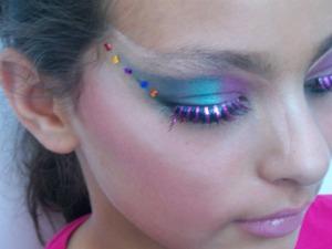 Lady Gaga/Nikki Manaj inspired (she added a hot pink wig after)