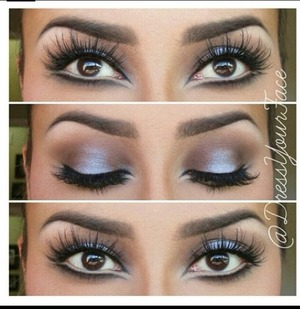 Gorgeous mua @dressyourface rocking BadKitty mink lashes from Minxlash.com
