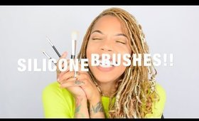 Silicone Brush Set Review | DO THEY WORK!?