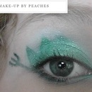 The Hunger Games series: District 4 makeup look