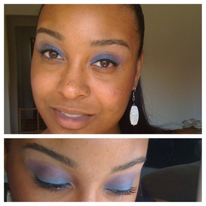 I think this was inspired by basketball wives... Someone had something like this in and i wanted to try it. 2012