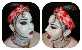 Halloween Tutorial: Pin-Up Bride of Frankenstein