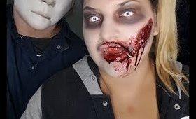 Maquillaje de zombie asi me maquille