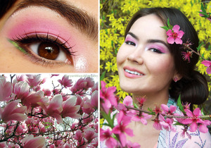 Chinese (Secret) Garden look: http://www.maryammaquillage.com/2012/03/chinese-secret-garden.html