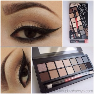 A look featuring Smashbox's brand new palette. I love the organized mix of matte and shimmer shadows.