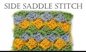 How to Crochet Side Saddle Stitch
