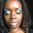 Aquamarine Eyeshadow look