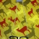 Super Nerdy Glasses Necklace!