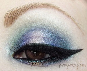 A re-vamp of an older look I did. I am much happier with it now. May 18th, 2012 -- Prettymaking: FOTD/EOTD: Watercolors, Version 2.0 -- http://prettymaking.blogspot.com/2012/05/fotdeotd-watercolors-version-20.html