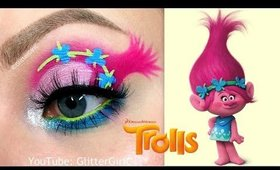Trolls Poppy Makeup Tutorial