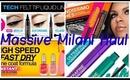 Massive Haul: Milani New 2013 Products