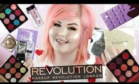Revolution Beauty Haul | NEW Violet Chocolate Palette + Glitter