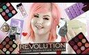 Revolution Beauty Haul | NEW Violet Chocolate Palette + Glitter