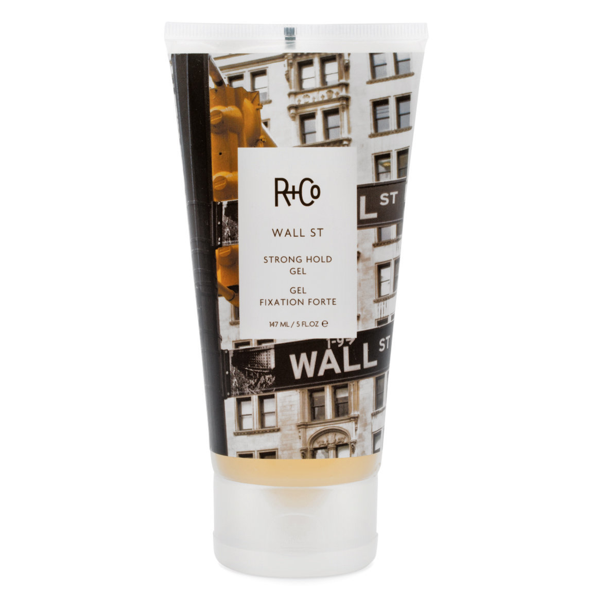 R+Co Wall St Strong Hold Gel product swatch.