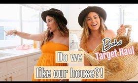DO WE LIKE OUR NEW HOUSE?! Boho Target Haul
