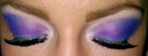 two tones smokey purple and blue x