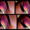Shimmery White. .Yellow. . orange. .Pink  . .Purple. .Blu