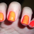 Why I hate Neon Polish- I have a trick to keep yours from looking like this!