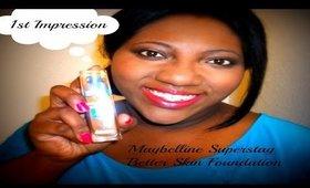 Maybelline Superstay Better Skin Foundation (1st Impression)