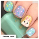 Cute Easter Bunny Nails