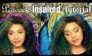Peacock Inspired Smokey Eye Makeup Tutorial feat. Colourpop (NoBlandMakeup)