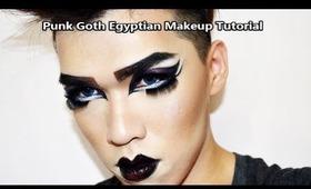 Punk Goth Egyptian Makeup Tutorial