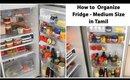 Fridge எப்படி Organize பண்ணுவது   CheezzKitchen   How to Organize Medium Size Fridge