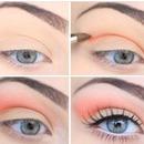 Bright peach
