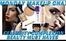 Celebrity Makeup Kit Beauty Products for Complexion #MONDAYMAKEUPCHAT - mathias4makeup