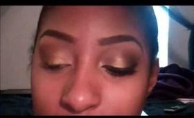 Tutorial: Golden Smokey Eye (BH Cosmetics)