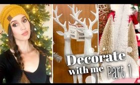 Decorate For Christmas With Me - PART 1 - Shopping