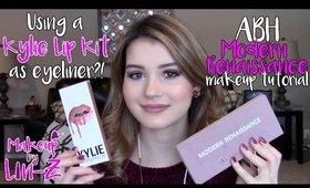 Winter 2017 Makeup Tutorial - Glam & Cozy! ♡ ABH Modern Renaissance & Kylie Cosmetics