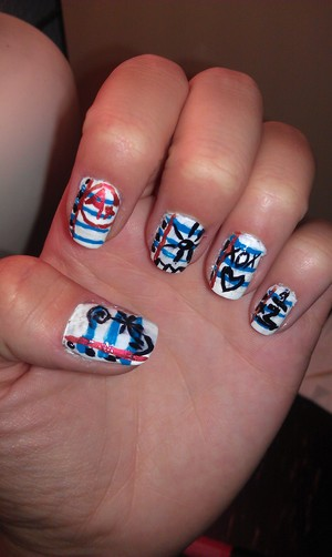 Back to School On Your Nails :) I Had Fun With This One.