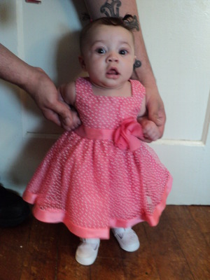 oh how she has grown.... she is now 16 weeks old.... happy easter loves