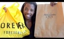 Spring Clothing Haul: Forever21, Abercrombie & Fitch (lolwut?)