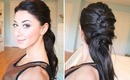 "Crisscross ""Ponytail"" Hairstyle"