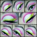 Pink cut crease!