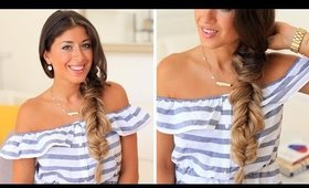 Three Way Fishtail Braid | Luxy Hair Tutorial