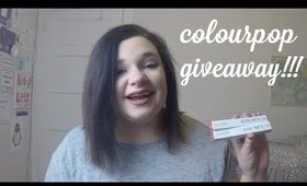 Colourpop Giveaway!!! (ENDS 01/02/17 at 11:59 PM)