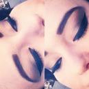 Winged eyeliner, always.