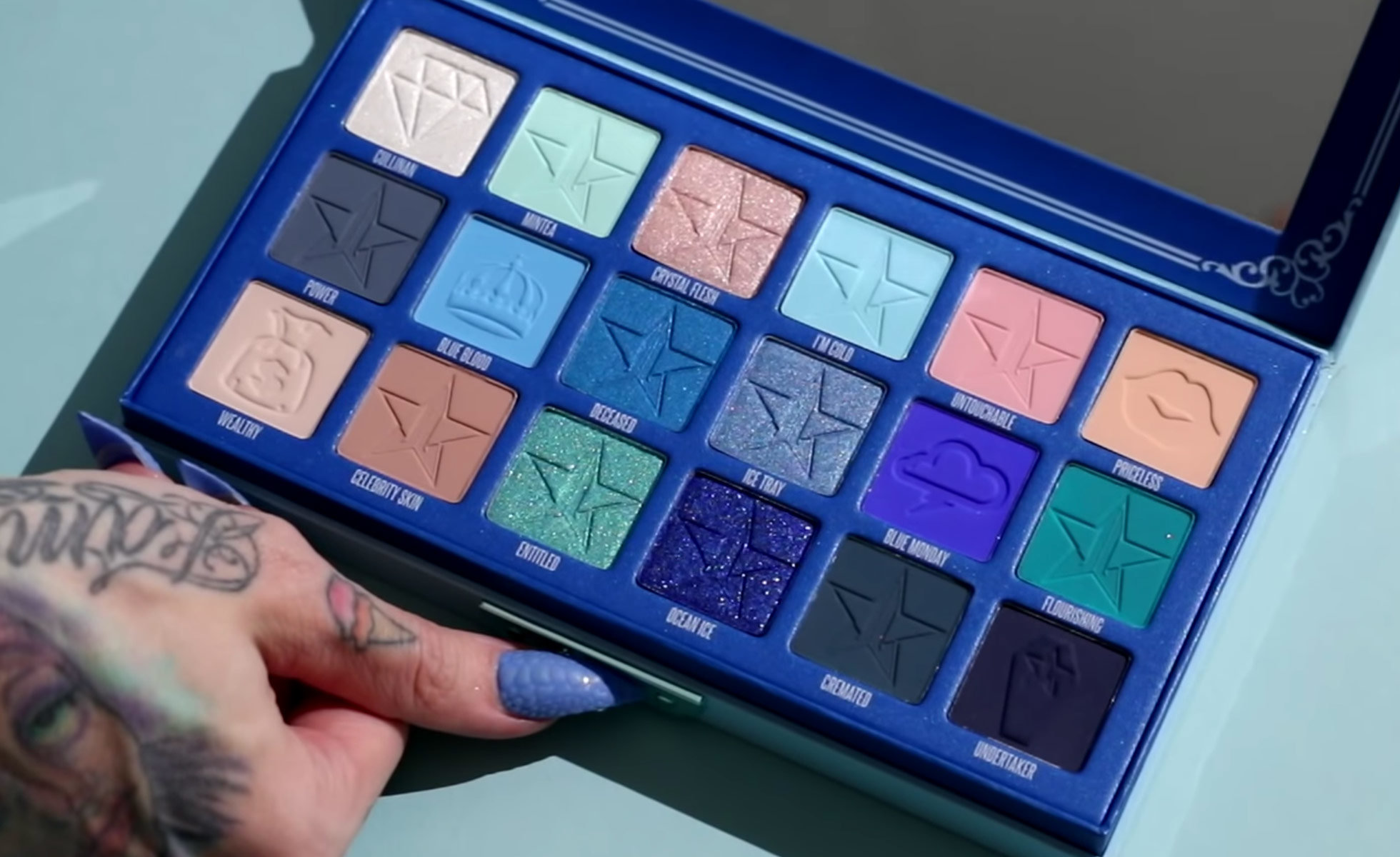 It wouldn't be a true Jeffree Star launch without a new eye shadow palette! This drop features Jeffree's 6th eye shadow palette, which includes 18 pans of ...
